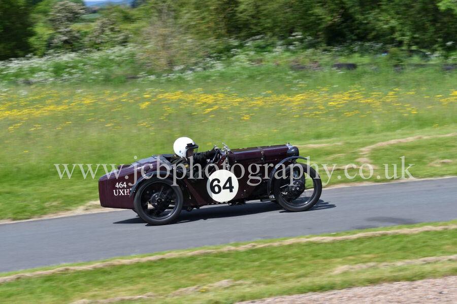 Austin Ulster 1930 driven by Stuart Rose