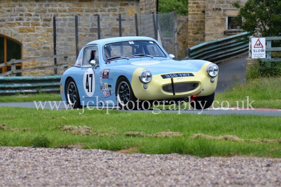 Austin Healey Sebring Sprite driven by Stephen Casson