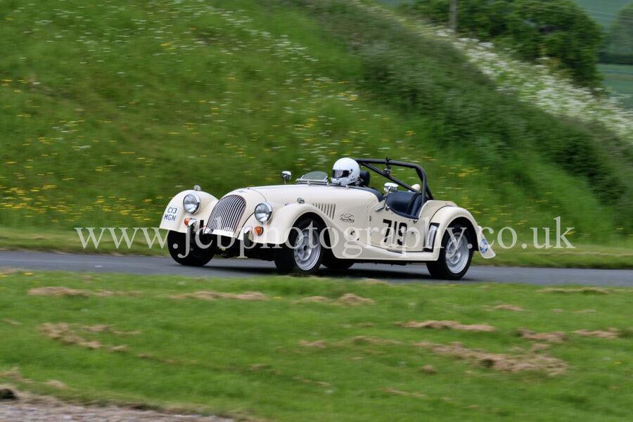 Morgan Plus 4 driven by Michele Bailey
