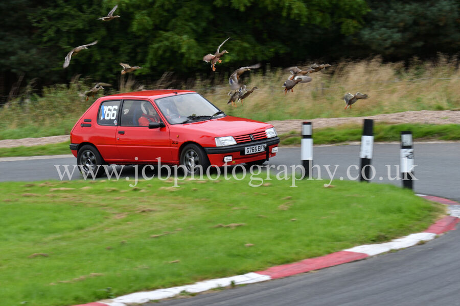 Peugeot 205 XS driven by Sam Billington