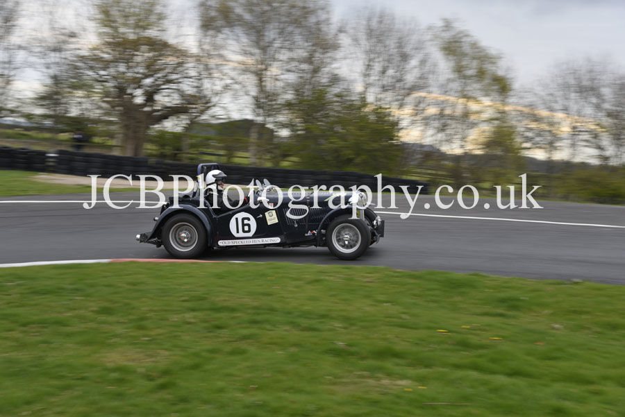 MG TC driven by Dave Morris