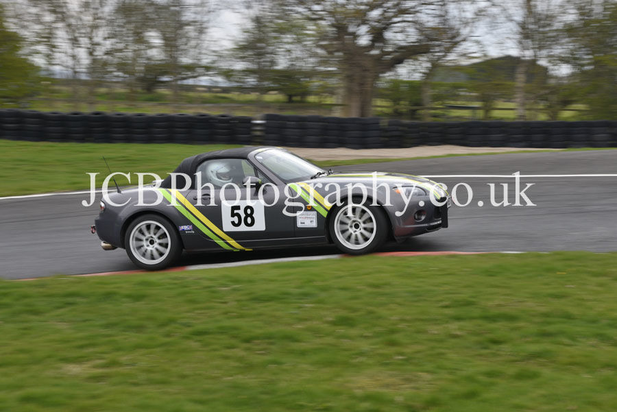 Mazda MX5 driven by John Pollard
