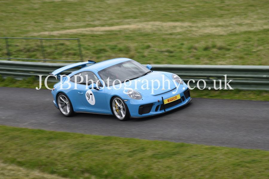 Porsche 911 GT3 driven by David Dyson