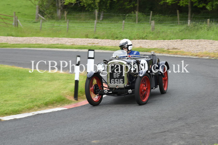 Austin 7 Ulster driven by Don Adams