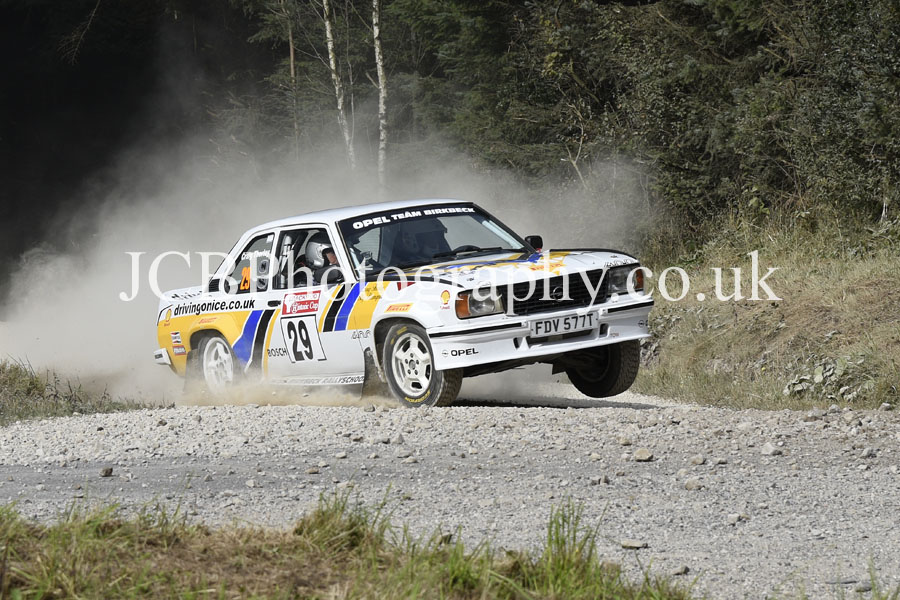 Opel Ascona 400 driven by Stig Blomqvist and co-driver Craig Thorley