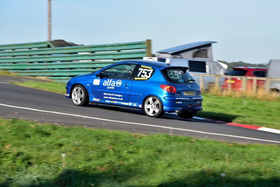 Peugeot 206 Gti driven by Alex Hall