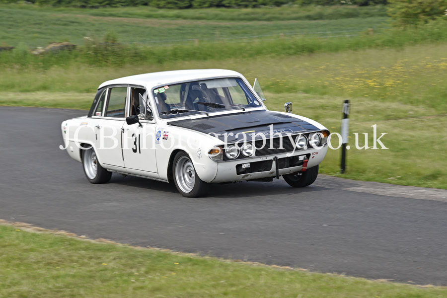 Triumph 2500 Pi driven by Rob Welch