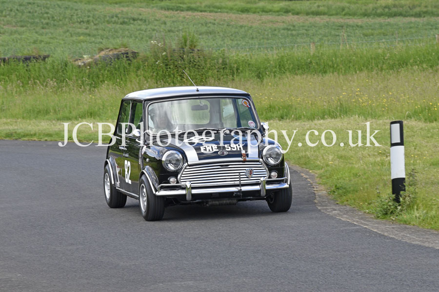 Austin Mini Cooper S driven by Andrew Jeffery