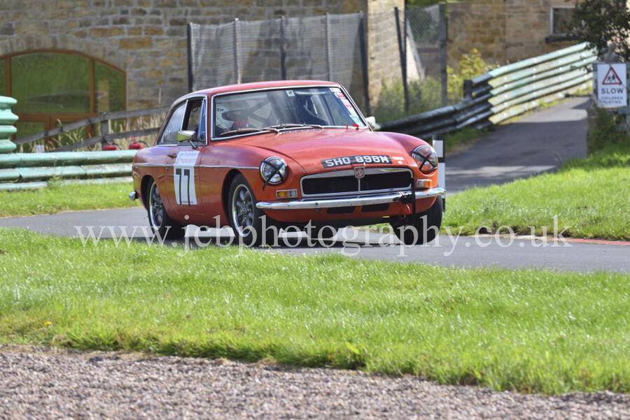 MGB GT driven by Tony Ryalls