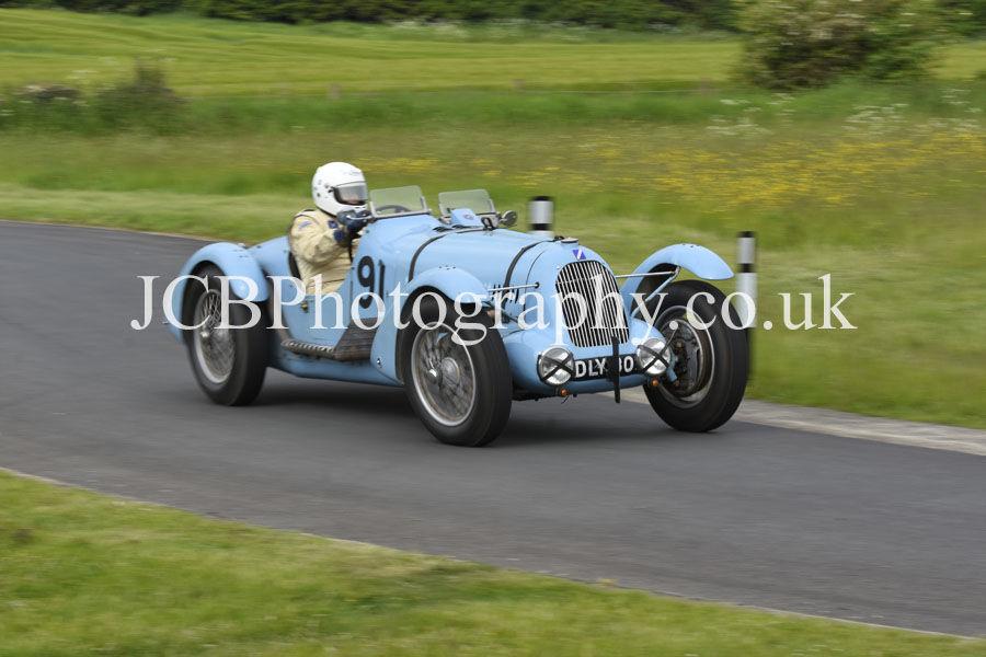 Talbot Lago T150C driven by John Guyatt