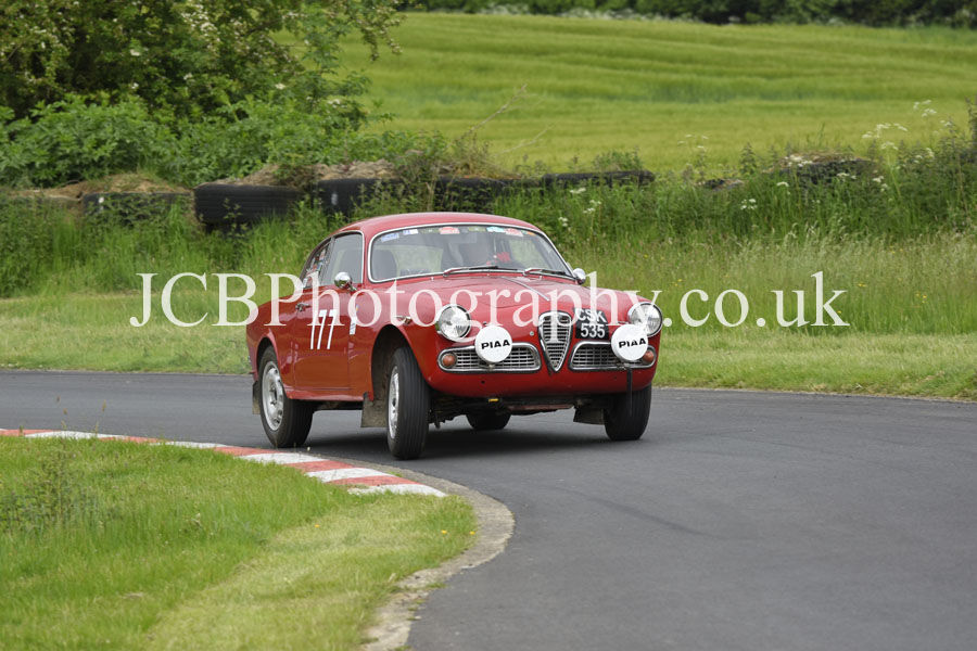 Alfa Romeo Giulietta Sprint driven by Paul Wignall