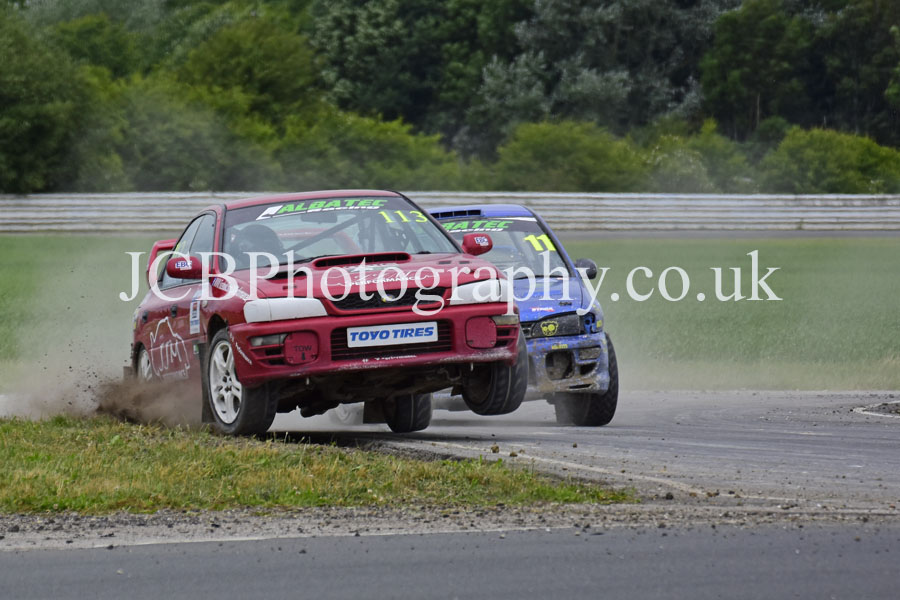 Subaru Impreza driven by Dan Beattie