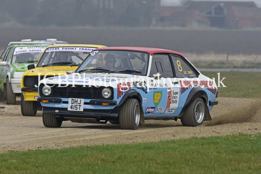 Ford Escort MkII driven by Darren Owen