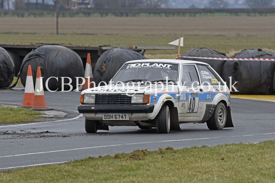Talbot Sunbeam driven by Craig Renshaw and co-driver Dean Wilson