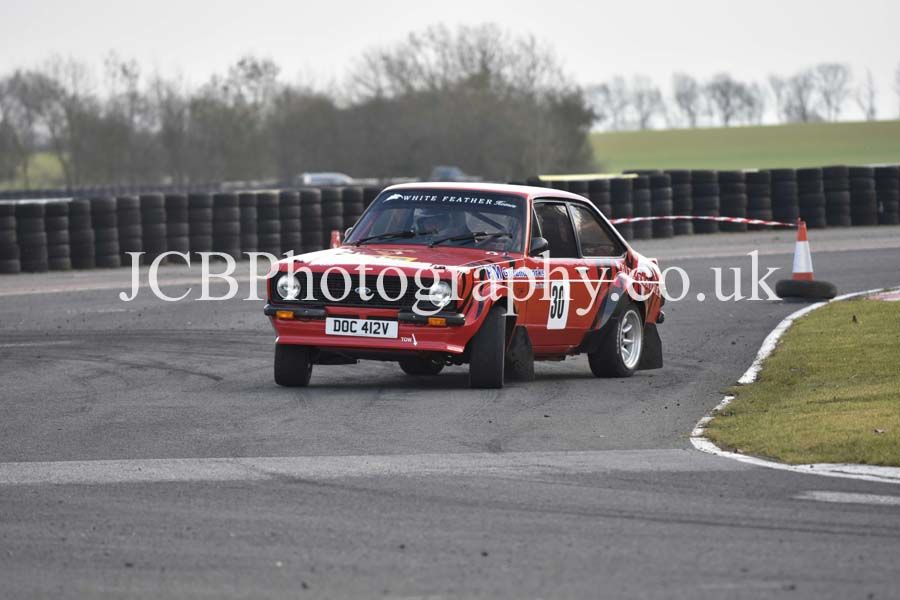 Ford Escort MkII driven by Paul Murro and co-driver Callum Cross