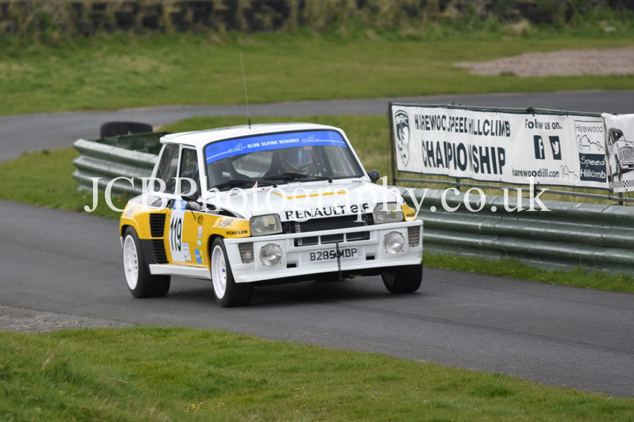 Renault 5 Turbo driven by Sheridan Bell