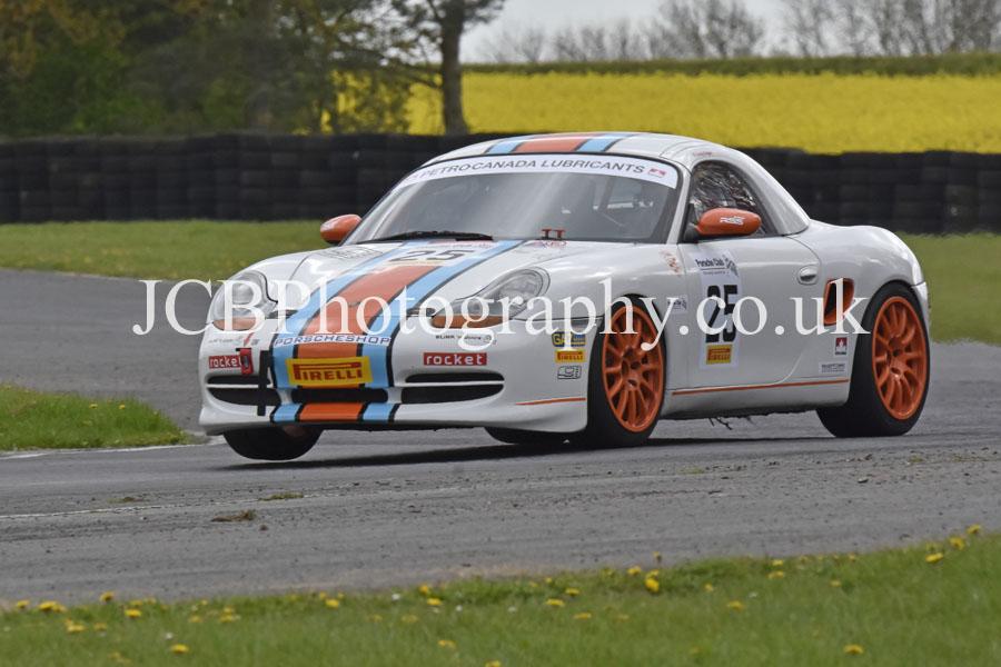 Porsche Boxster driven by Andy Fagan