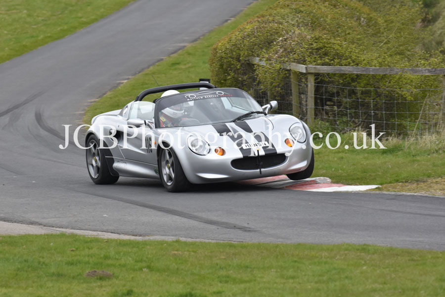 Lotus Elise driven by Nigel Hinson
