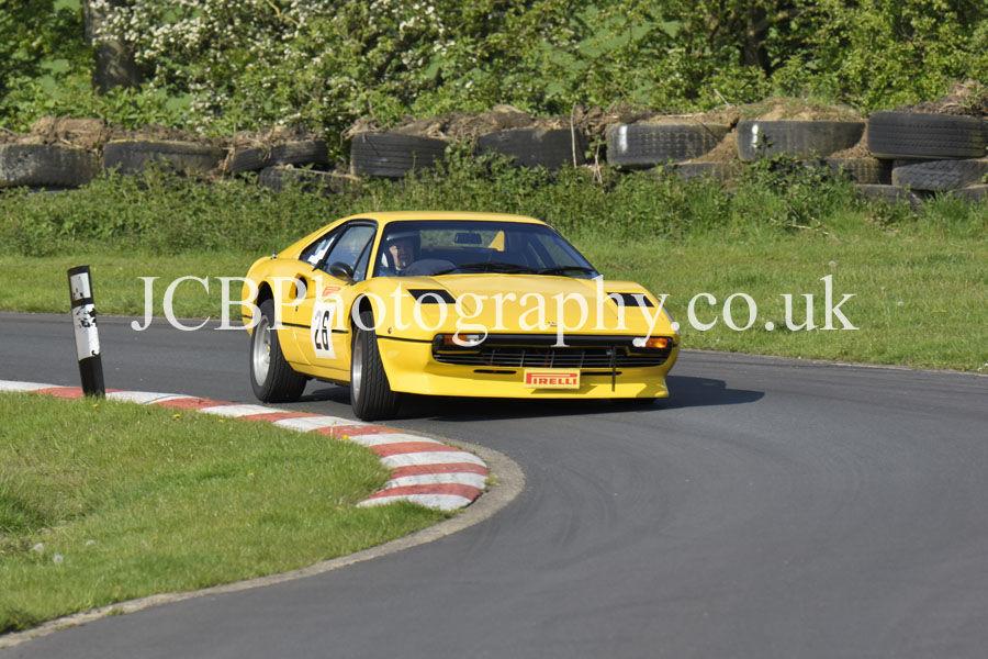 Ferrari 308 GTB driven by Brian Jackson
