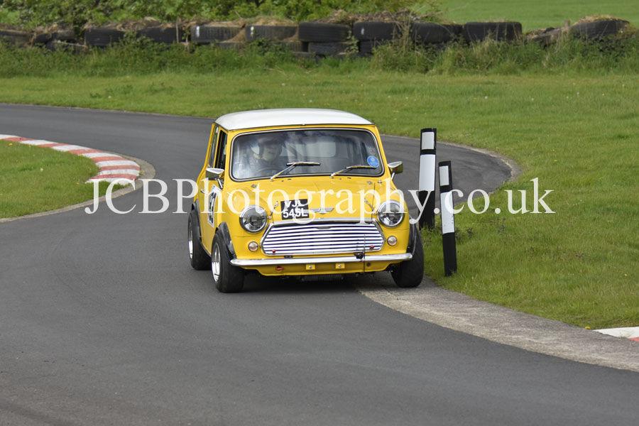 Morris Mini driven by David Spaull
