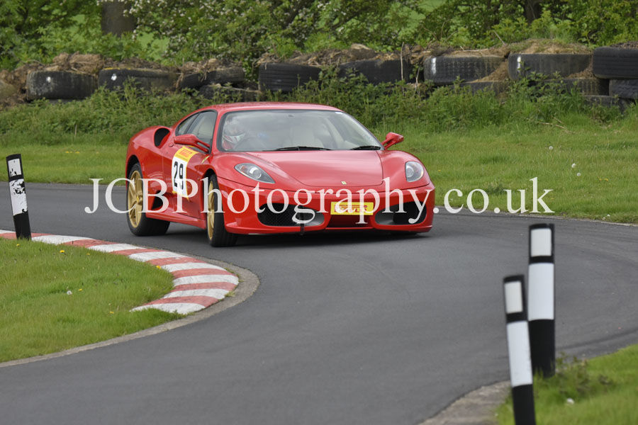 Ferrari F430 driven by David Snelson