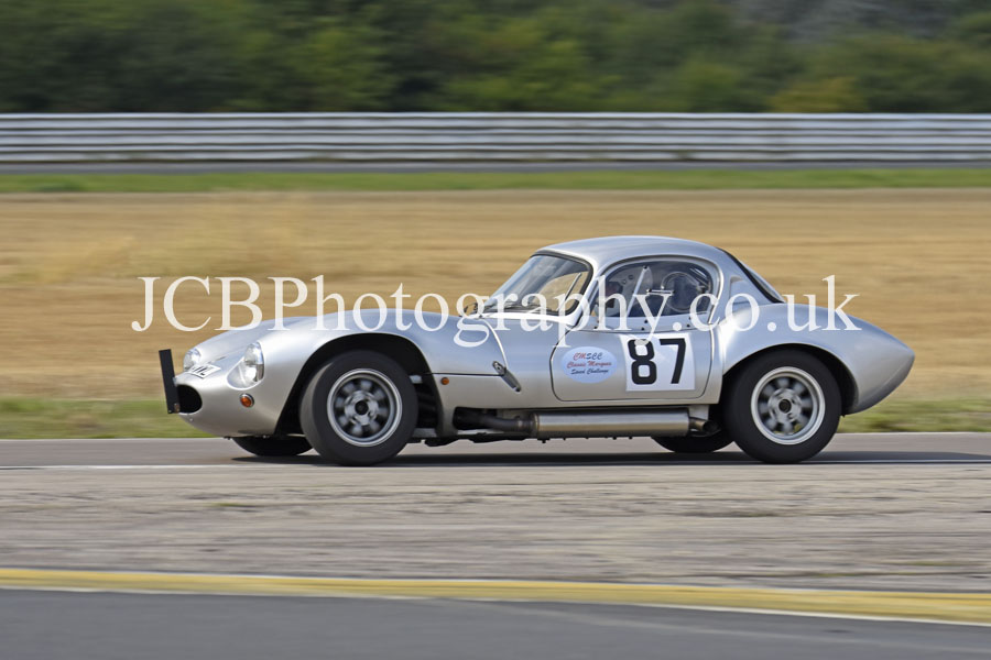 Ginetta G4 driven by Matthew Eady