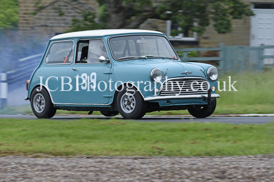 Morris Mini driven by Rich Hawcroft
