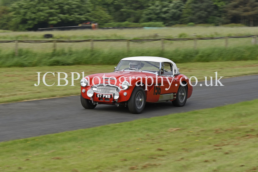 Austin Healey 3000 driven by Julian Hindle