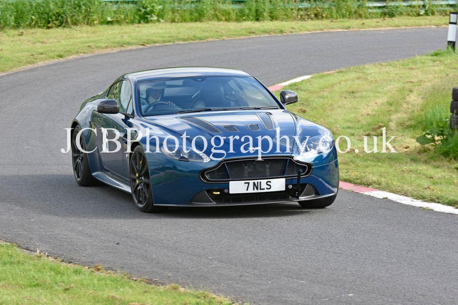 Aston Martin V12 Vantage driven by Neil Sims