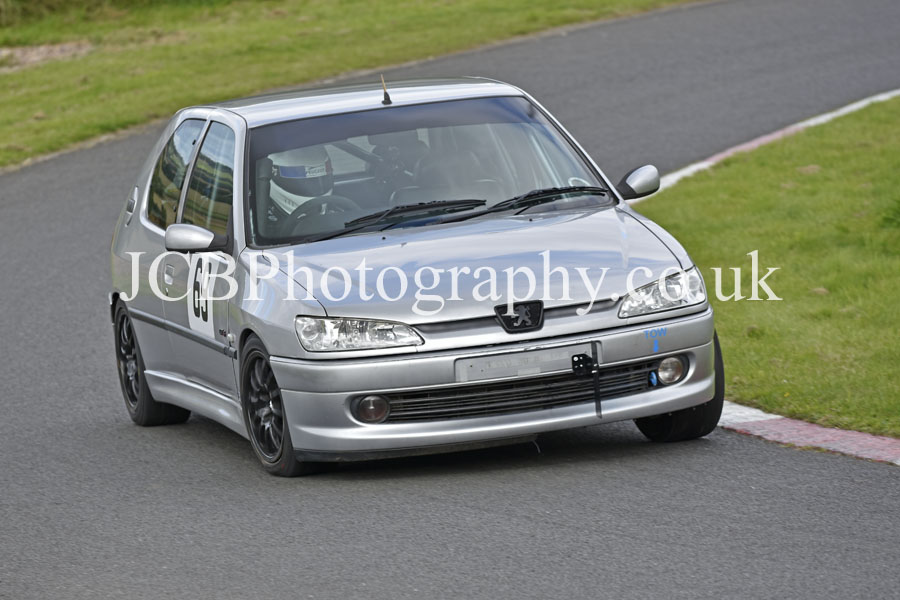 Peugeot 306 driven by Alex Hall