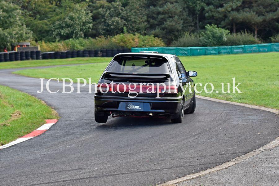 Mazda 323 GTX driven by Chris Edwards