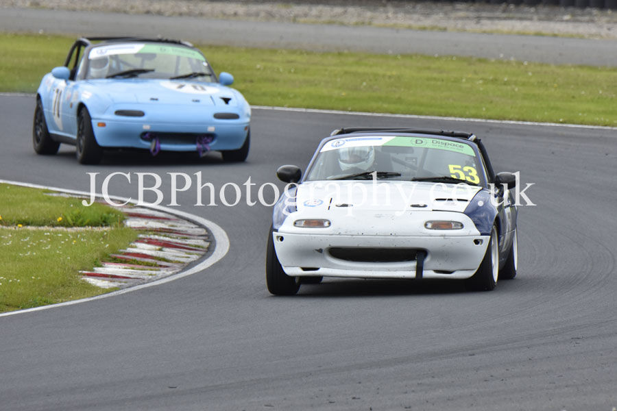 Mazda MX5 driven by Stephen Reed