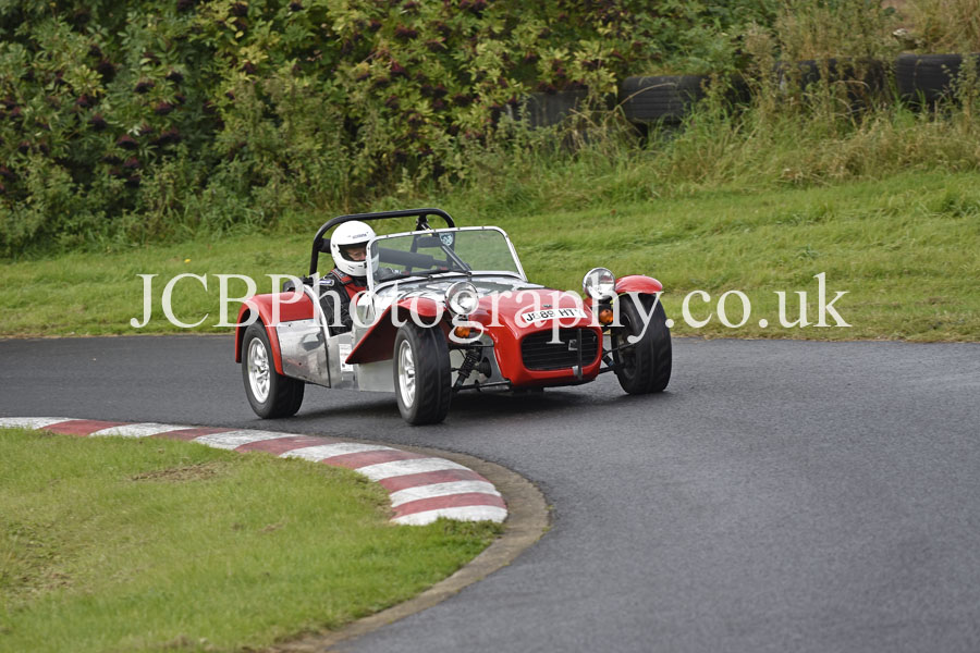 Caterham 7 driven by Tony Hall