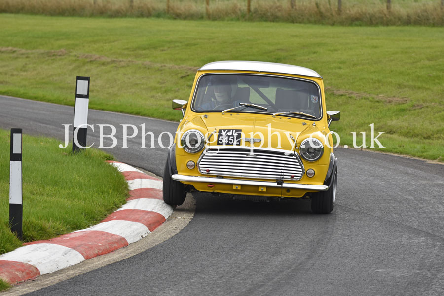 Morris Mini driven by David Spaull