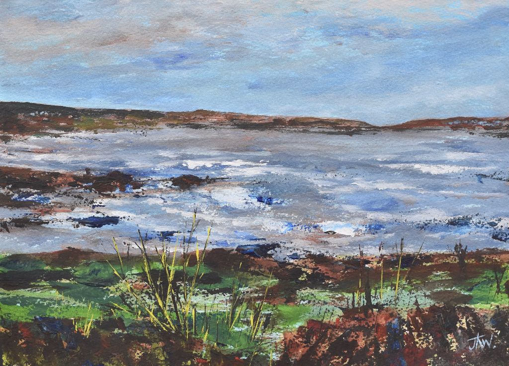 Looking towards Ogmore