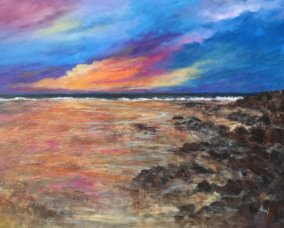 Sunset , Rest Bay