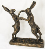 BOXING HARES LARGE