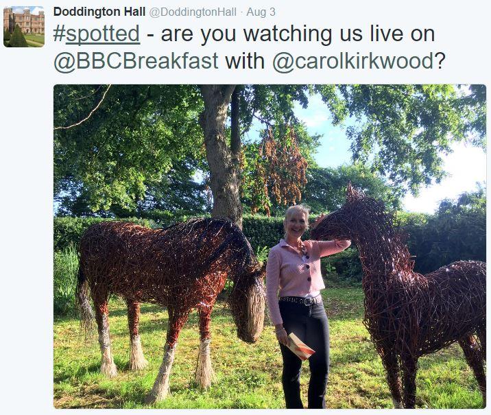 BBC Breakfast TV - Carol Kirkwood