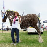 Cheshire Show trade stand winner in category and overall reserve champion