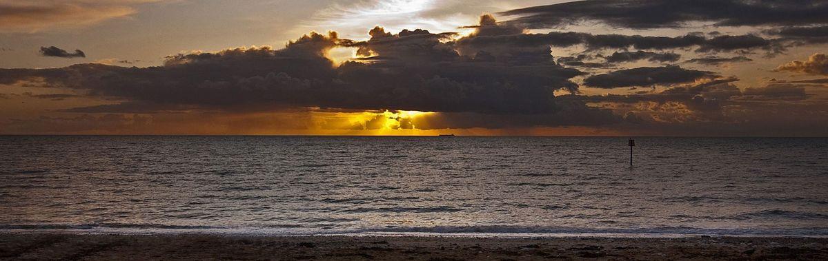 Bridlington sunset