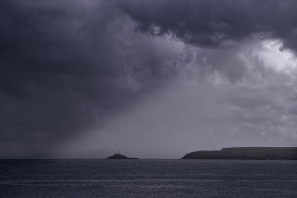 Storm off St Ives