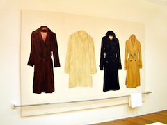 """Coats (Triptych) II"" [SOLD]"