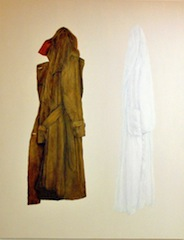 """Coats (Triptych) III"" [SOLD]"