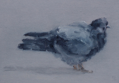 """The Pigeon"" [SOLD]"