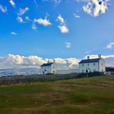 Penmon White Houses, Anglesey.