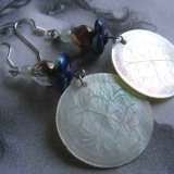 Antique Mother of Pearl earrings