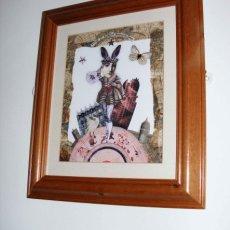 Wonderland on sale framed