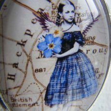 Capture fairy, tiny, original collage
