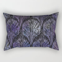 Purple Gothic Pillow