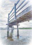 Under the Boardwalk Sketch